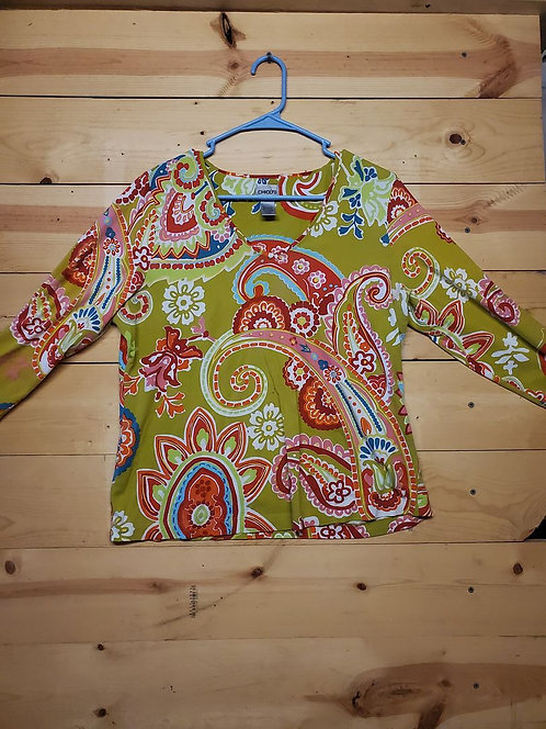 Chicos Women's Long Sleeve Size 2