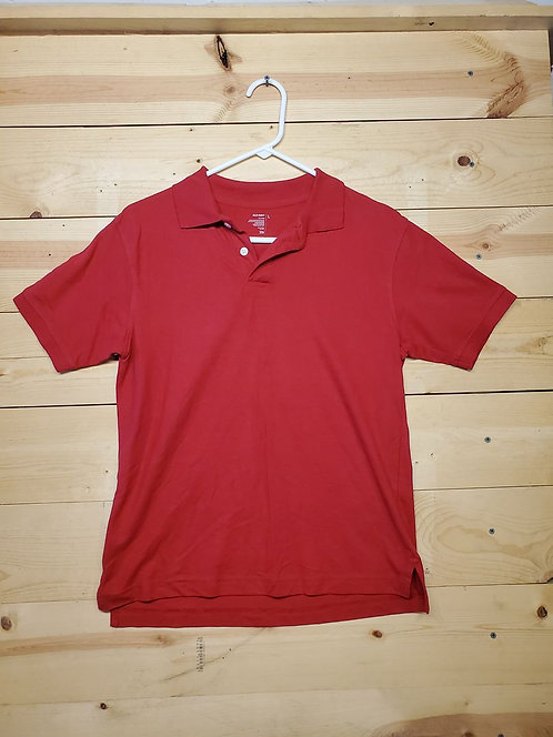 Old Navy Half Button Up Polo Youth T-Shirt Size L