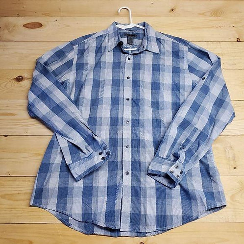Spring & Mercer Button Up Men's XL