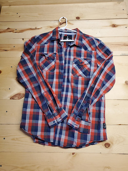 Jeans by Buffalo Men?s Button Up Medium