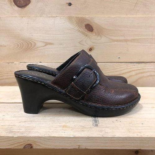 Born Leather Sandals Womens Size 8