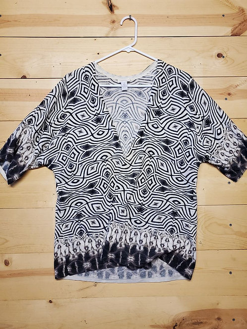 Chicos Duster Women's Long Sleeve Size 2
