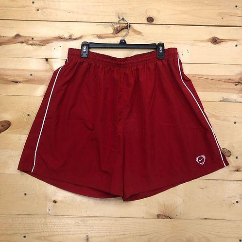 Nike Athletic Running Shorts RED Men's 2XL