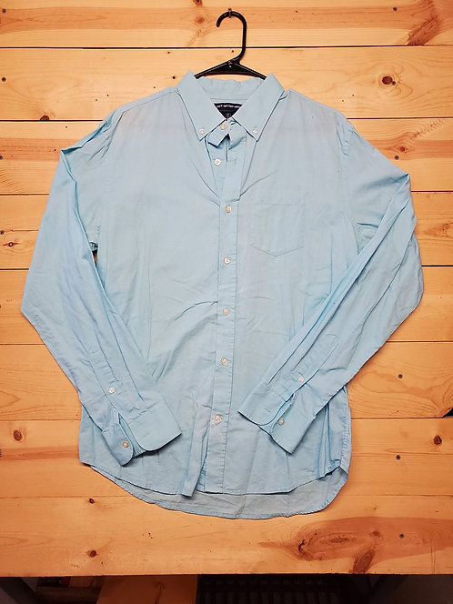 Old Navy Slim Fit Button Up Men's Long Sleeve Size L