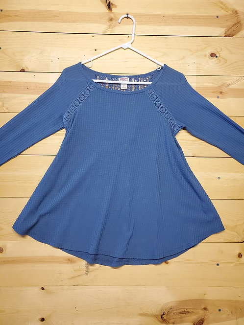 Mossimo Supply Co. Lace Top Women's Long Sleeve Size S