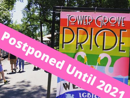 Big News: Tower Grove Pride Is Postponed Until Next Year