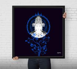 art print :Dainichi Nyorai
