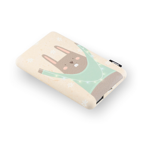 Adorable Animal Power Bank Grey Bear