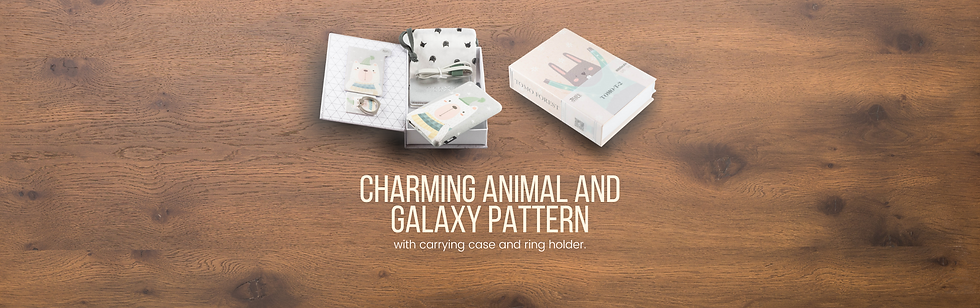 Copy of Charming animal and galaxy patte