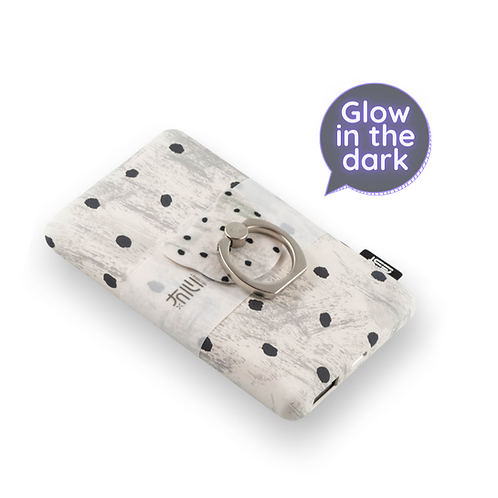 Glow In The Dark Power Bank Creamy White
