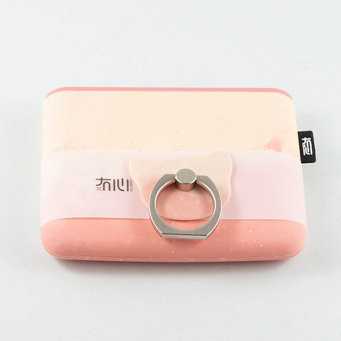 Unique Square Power Bank Warm Pink
