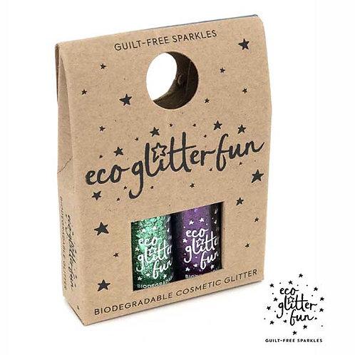 verde uber disco ball & amethyst standard Bioglitter® Sparkle Halloween mini box