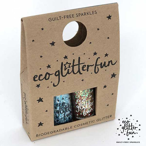 frozen & christmas blend of Bioglitter® Sparkle Christmas mini box