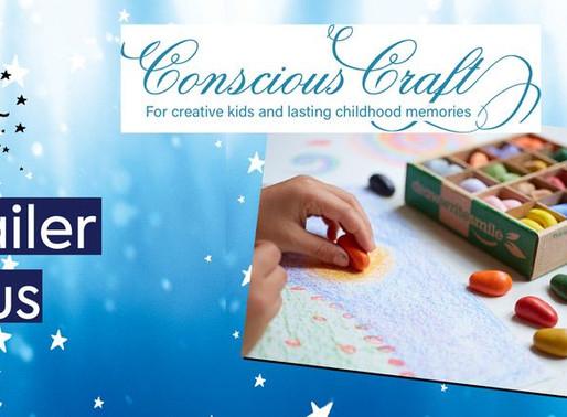 Eco Glitter Fun Stockist focus – Conscious Craft