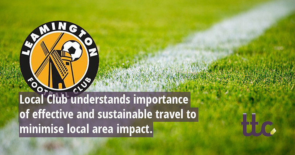 Local Club understands importance  of effective and sustainable travel to  minimise local area impact.