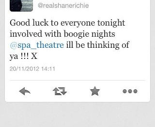 Shane Ritchie supports Spa Theatre Company!