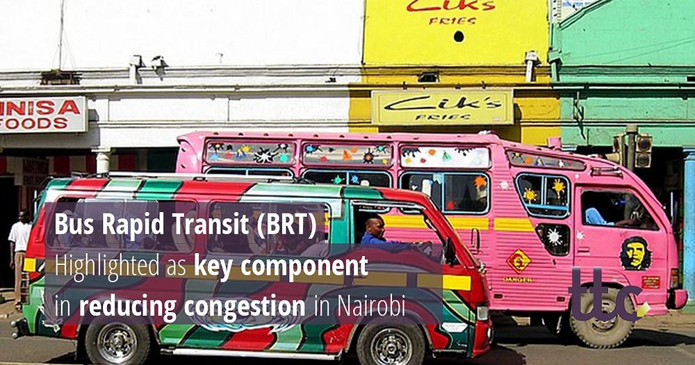 Nairobi Bus Rapid Transit (BRT) Lines 3 & 4W