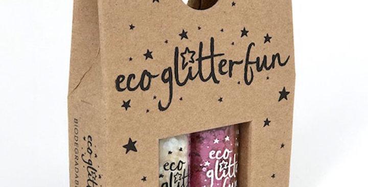 Milky Way & Framboise Chunky PURE Bio Glitter Sparkle Mini Box Set