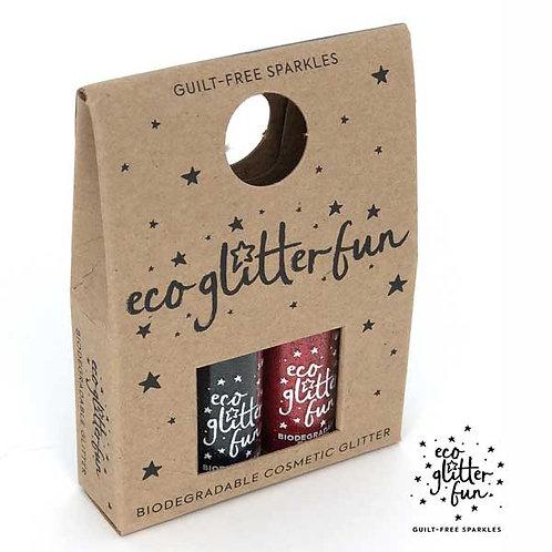 rojo chunky & nero standard Bioglitter® Sparkle Halloween mini box