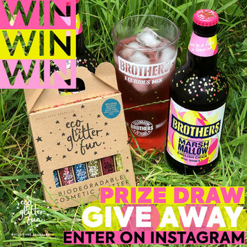 Kick-off the summer with our Brothers Cider & Eco Glitter giveaway