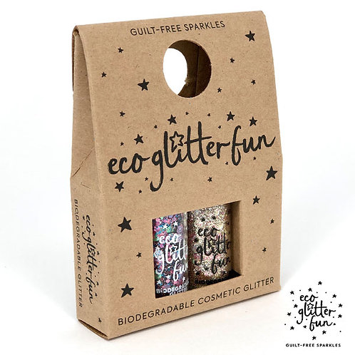 Bioglitter Sparkle Mini Box 1 - Lollipop & Unicorn Blends of biodegradable glitter