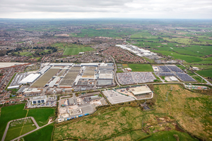 Bentley Motors Ltd Head Office, Ariel View