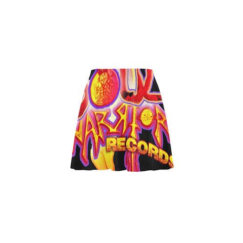Soul Warrior Records Mini Skater Skirt