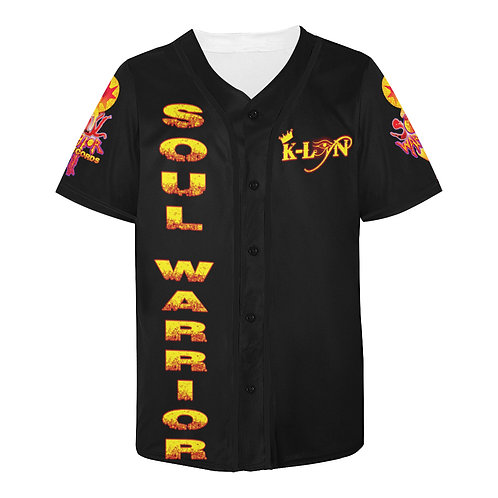 Soul Warrior Records Baseball Jersey