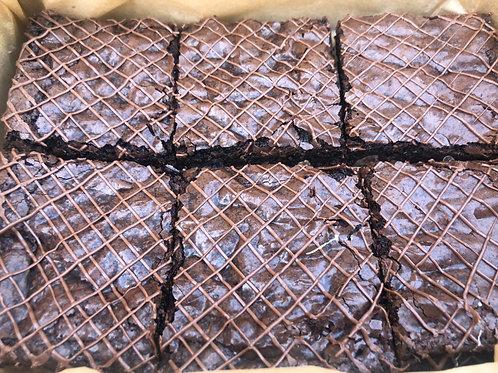 Box of 6 Chocolate Chip Brownies