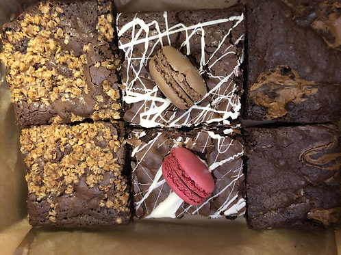 Lucky Dip Brownie Box of 6