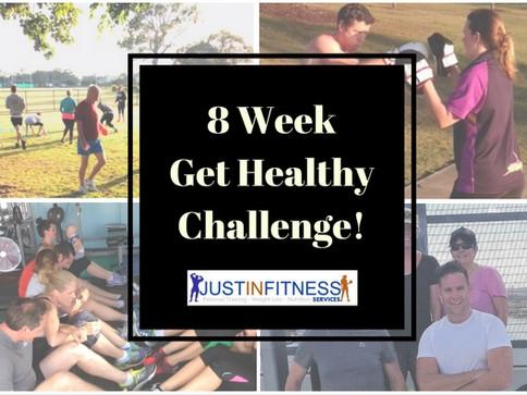 January 2017- 8 Week Get Healthy Challenge.
