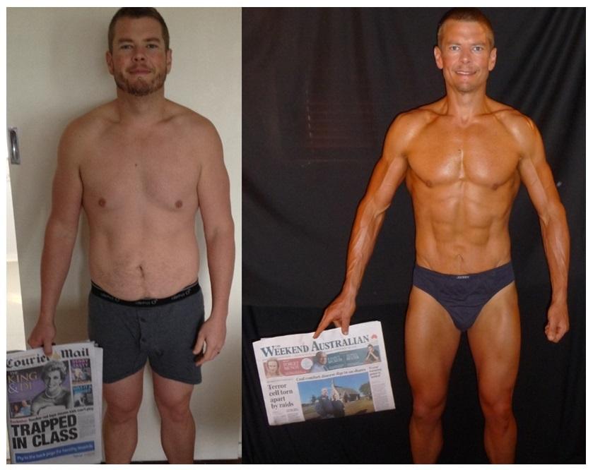 Transformation- 8 week challenge