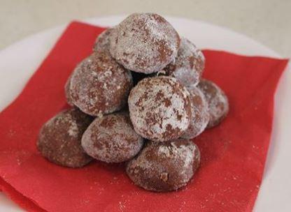 Choc Vanilla Protein Balls