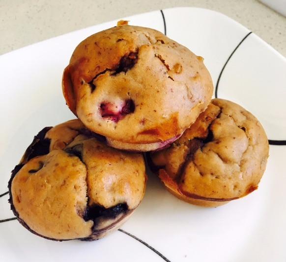 Banna Berry Muffins