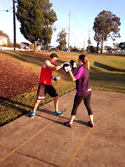 Boxing group personal training