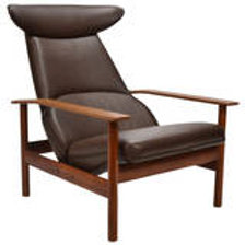 Fantastic Sven Ivar Dysthe Reclining Lounge Chair Ibusinesslaw Wood Chair Design Ideas Ibusinesslaworg