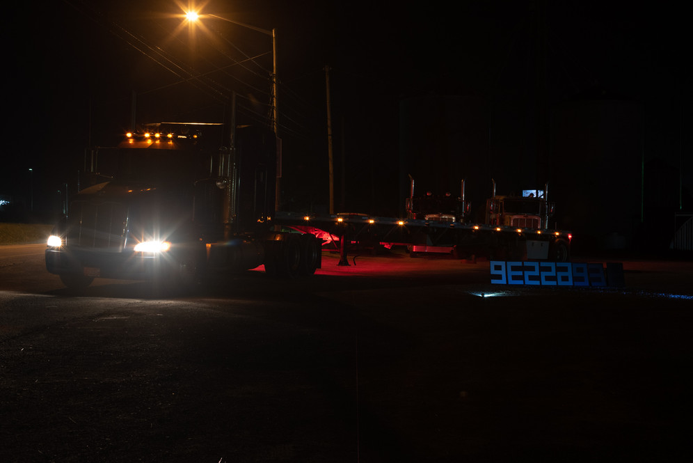 Semi-Tractor Night