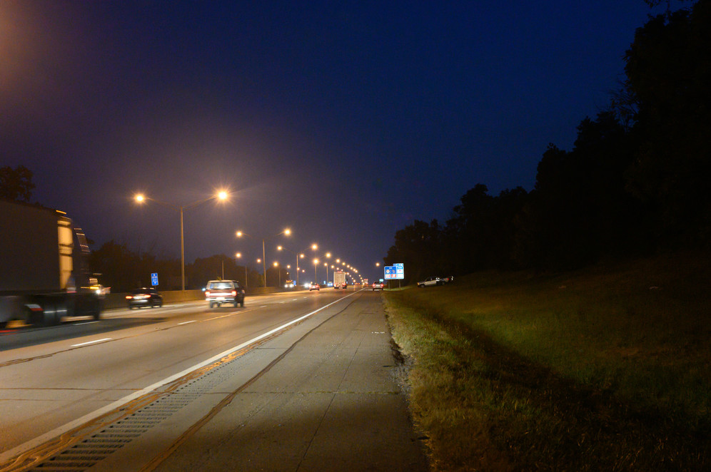 Night Visibility Interstate Acccident