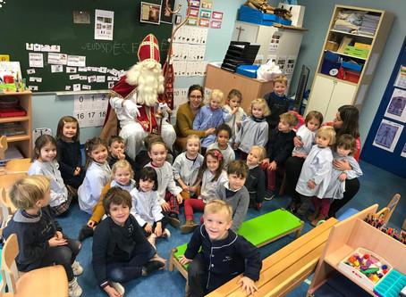 Oh grand Saint Nicolas, patron des écoliers...