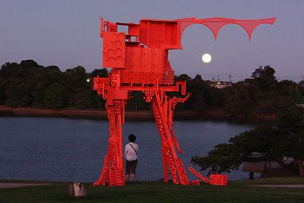 公園の彫刻039