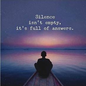 De kracht van...stilte. Neem jij weleens de tijd om in stilte te zijn met jezelf?