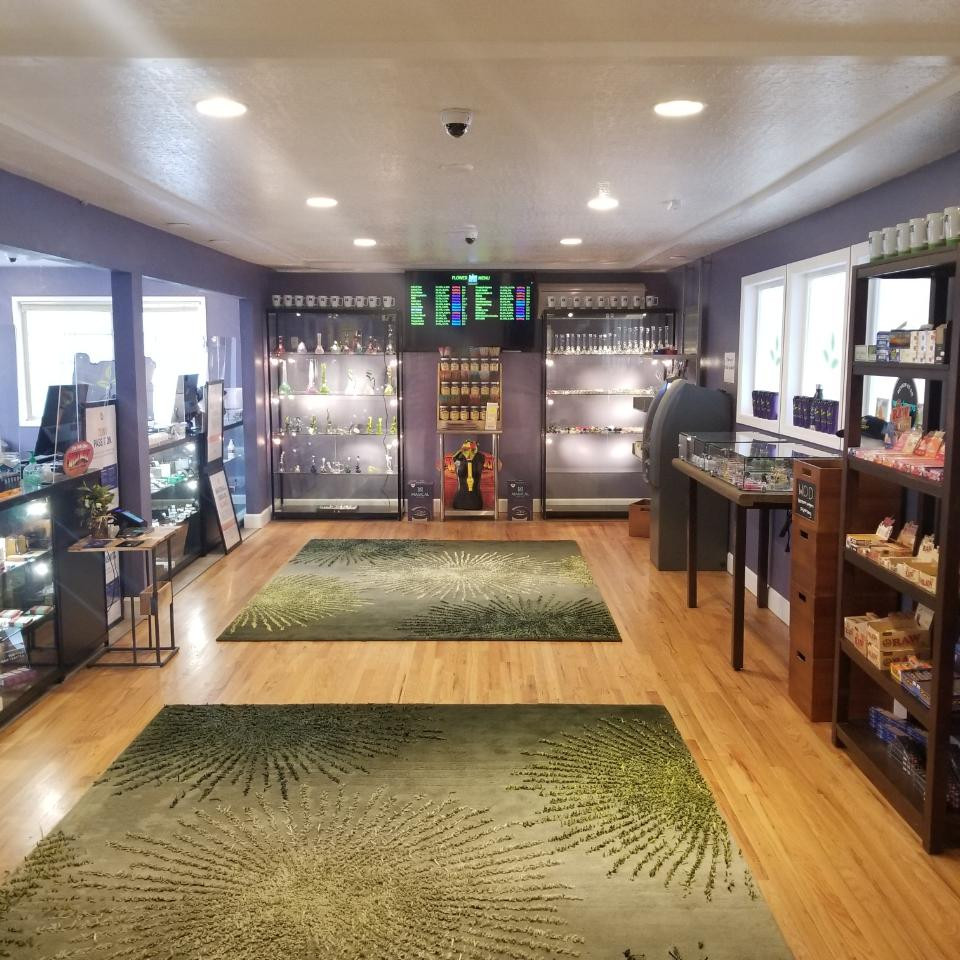 View inside the Western Oregon Dispensary Sherwood, Oregon location