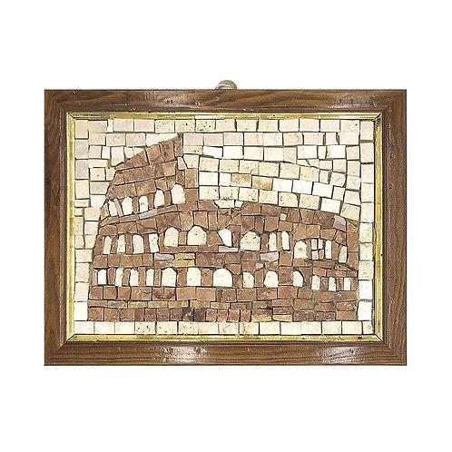 """Mosaico """"Il Colosseo"""" di marmi policromi"""