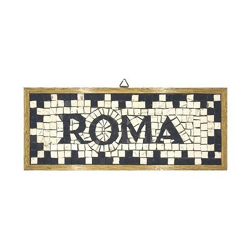 "Mosaico ""Roma"" di marmi policromi"