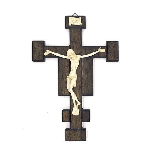 Crocifisso in legno di Mogano