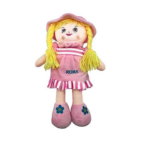 Bambola in tessuto.