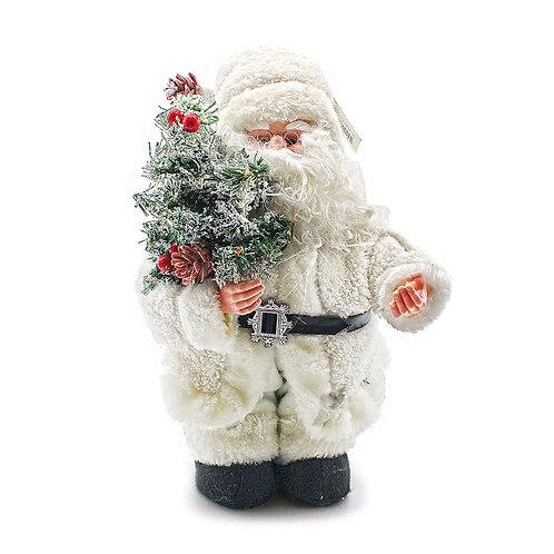 Babbo Natale in tessuto con musica e movimento