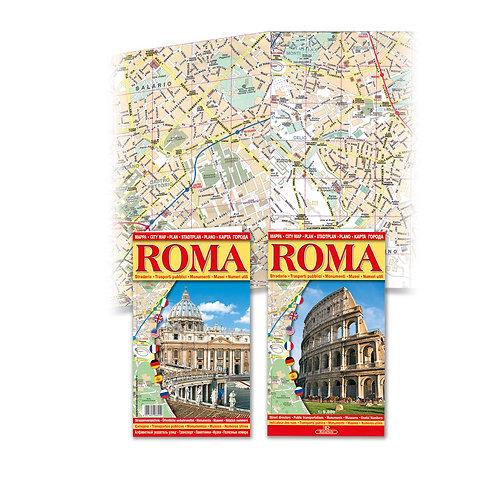 """Mappa Roma Stradario """"Roma"""""""