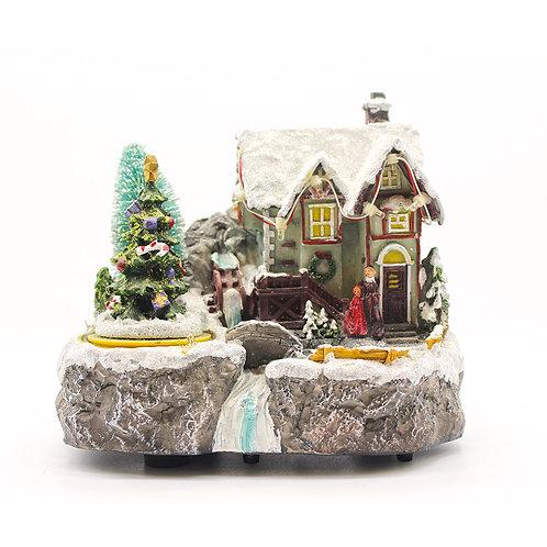 Carillon Paesaggio invernale