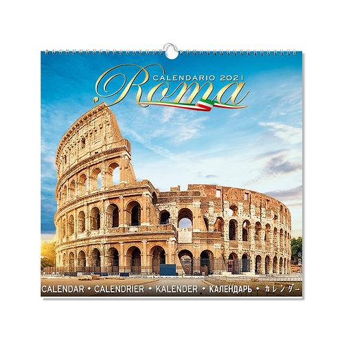 "Calendario fotografico da parete ""Roma"""